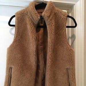 JCrew Plush Fleece Excursion Vest XS